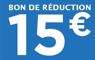 15€ offerts*