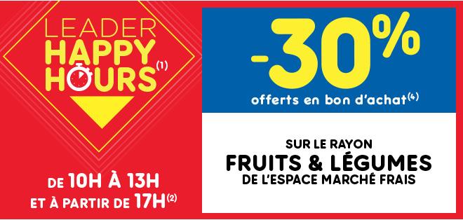 Happy Leader Hours Fruits et légumes