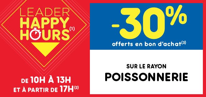 Leader Happy Hours(1) Poissonnerie