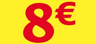 8€ offerts*